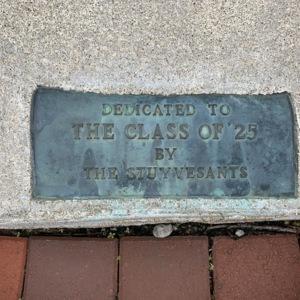 Stuyvesant Fountain Plaque