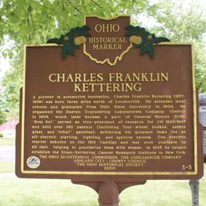 Kettering Historical Marker Sign