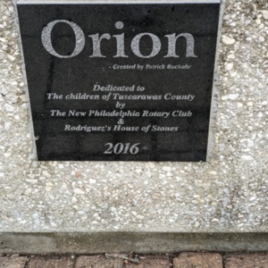 Orion Plaque