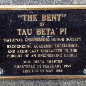 """Plaque on """"The Bent"""" Base"""