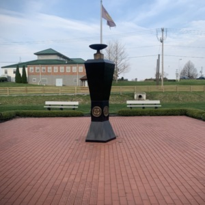 Ohio Fallen Heroes Memorial Eternal Flame Pillar View 4