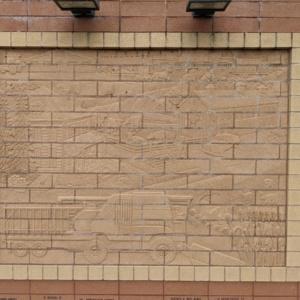 Brick Wall Sculpture 11