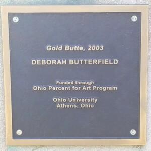 Gold Butte Plaque
