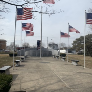 Walkway, Marion County World War II Veterans Memorial