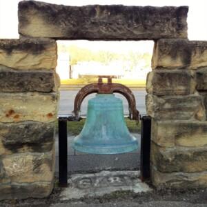 Closer View of Malta School Bell