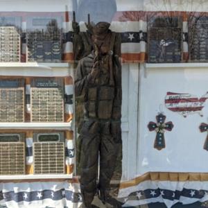 Conesville Soldier Memorial- Full-view