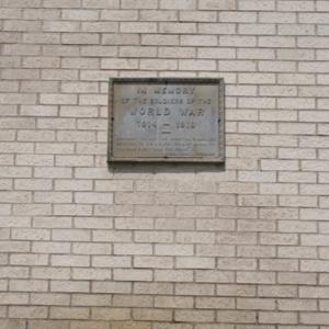 Soldiers Memorial Monument right plaque.JPG