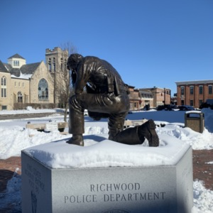 Union County Law Enforcement Memorial from Left