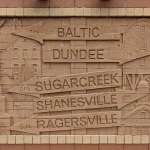 Brick Wall Sculpture 7