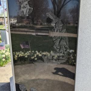 Coshocton County Vietnam Veterans Memorial- Back