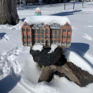 Boardman Elementary School Gnome House