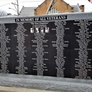 Back of Iwo Jima Memorial