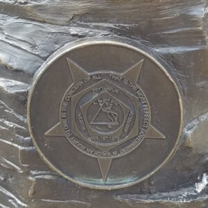Hocking Valley Miner Plaque 1