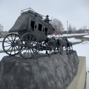 Back Right of Stagecoach
