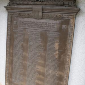 Loudonville War Memorial Honor Roll.JPG