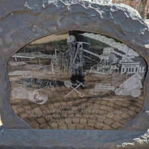 Coshocton Coal Miners Memorial- Granite memorial