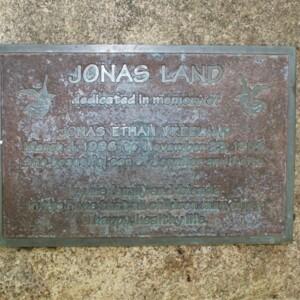 Jonas Land plaque.JPG